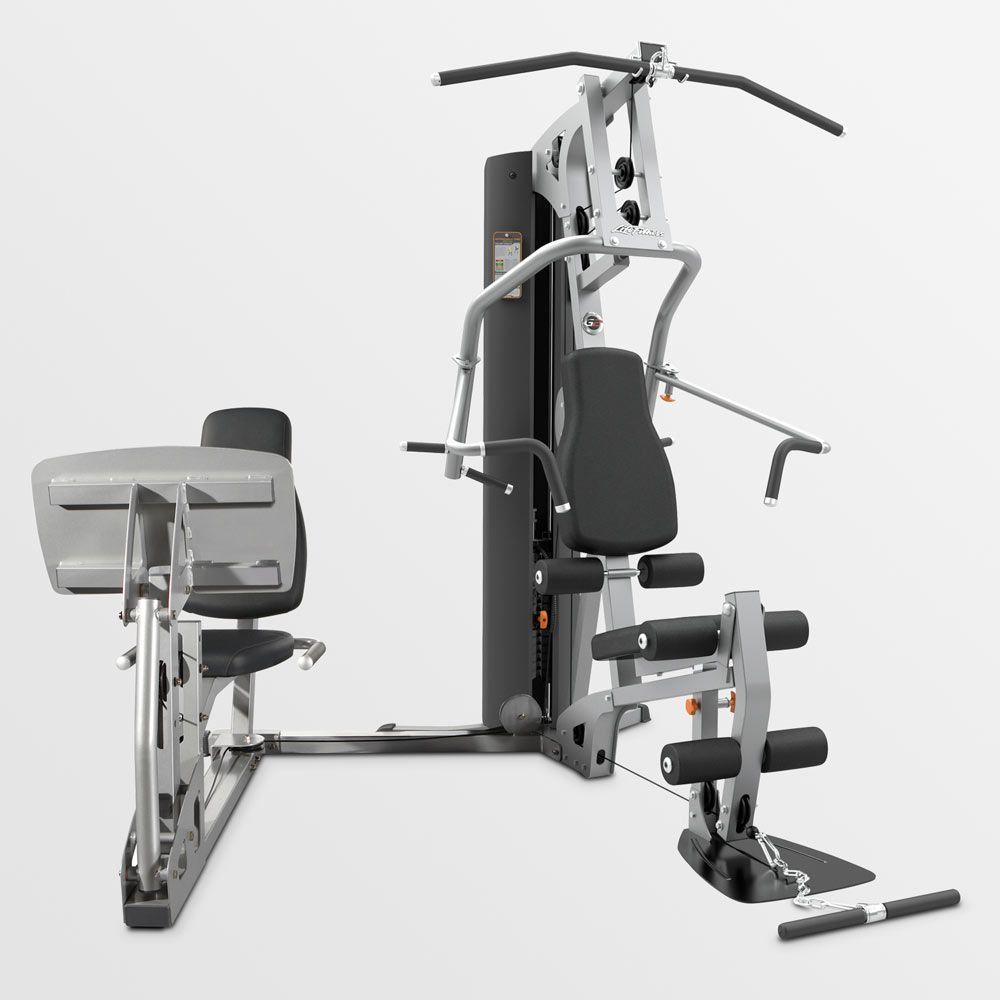 G2 home gym with leg press compact strength no