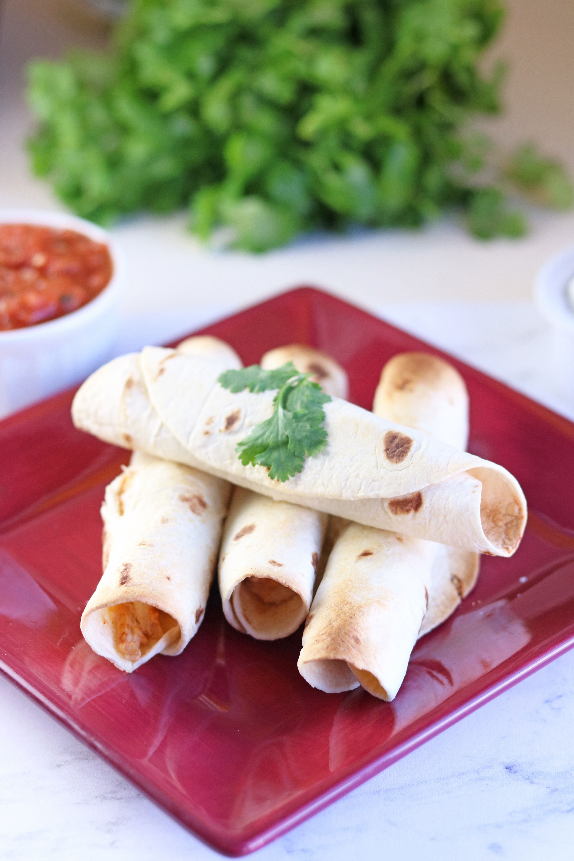 Air Fryer Chicken Taquitos Recipe Easy chicken recipes