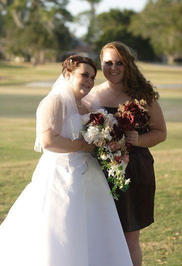 Truffle dress that Gabby Bridesmaide wore.
