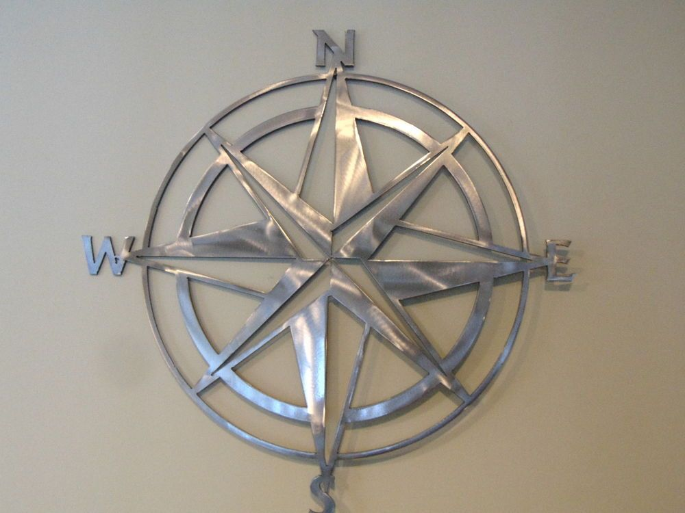 New Nautical Compass Rose Wall Art Home Decor X By Glmaw