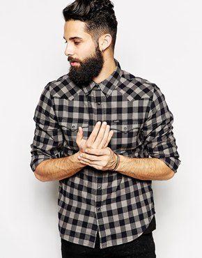 Lee Shirt by Orjan Andersson Slim Fit Western Check Flannel