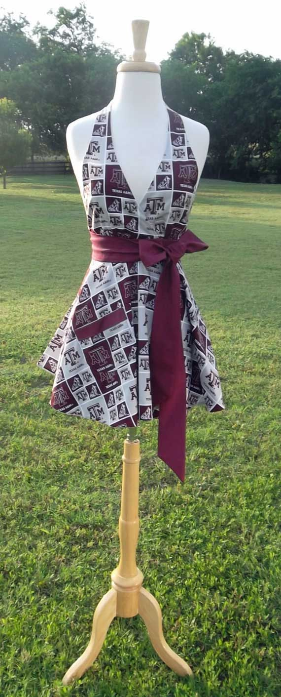 Womens Glamour Chef Texas A&M Maroon and by CanterburyKitchen