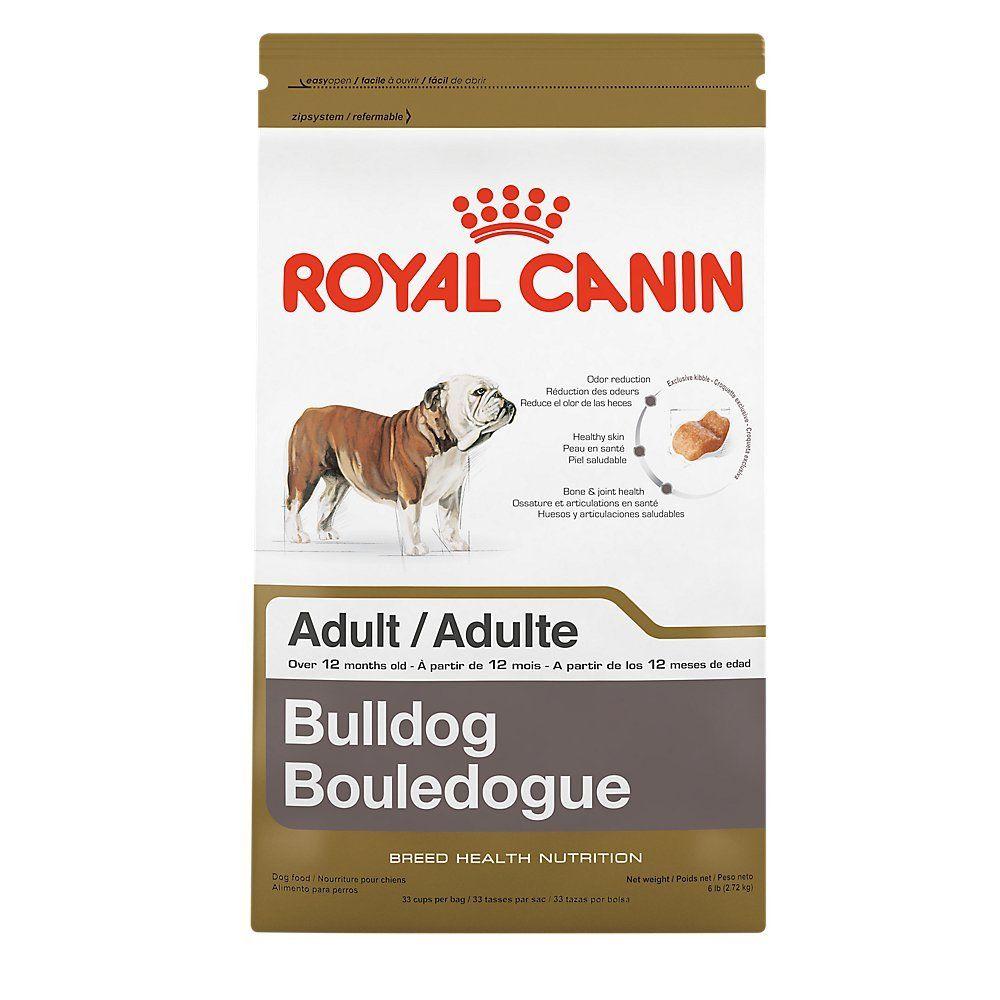Royal canin breed health nutrition bulldog adult dry dog