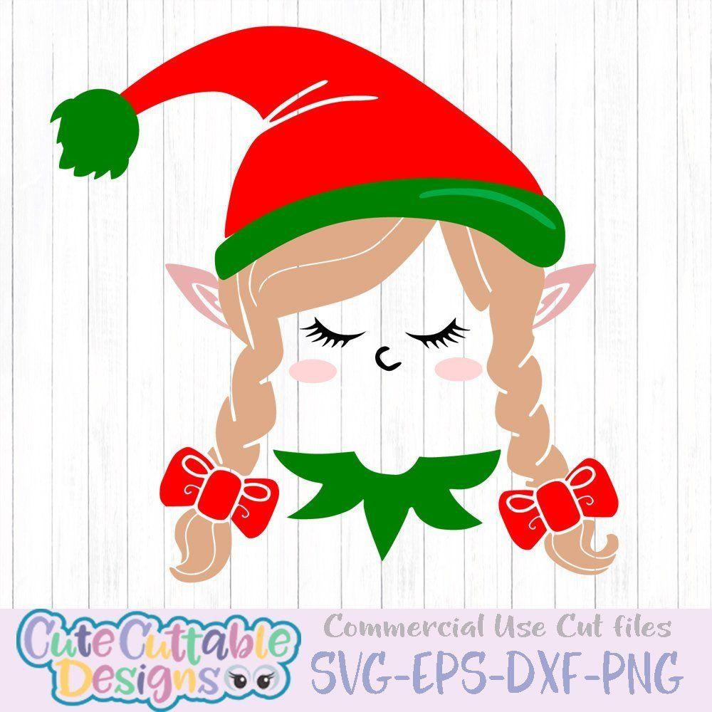 Christmas svg Girl Elf svg elf svg elves svg girls Etsy
