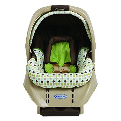 Graco SnugRide Infant Car Seat Barlow-Brown, Green and White, http ...