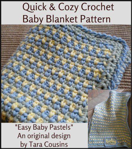 Quick Cozy Crochet Baby Blanket Pattern Cute Kids Crochet By Tara
