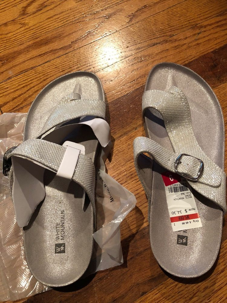 be0e1d348ef3 White Mountain Sandals size 9  fashion  clothing  shoes  accessories   womensshoes  sandals (ebay link)