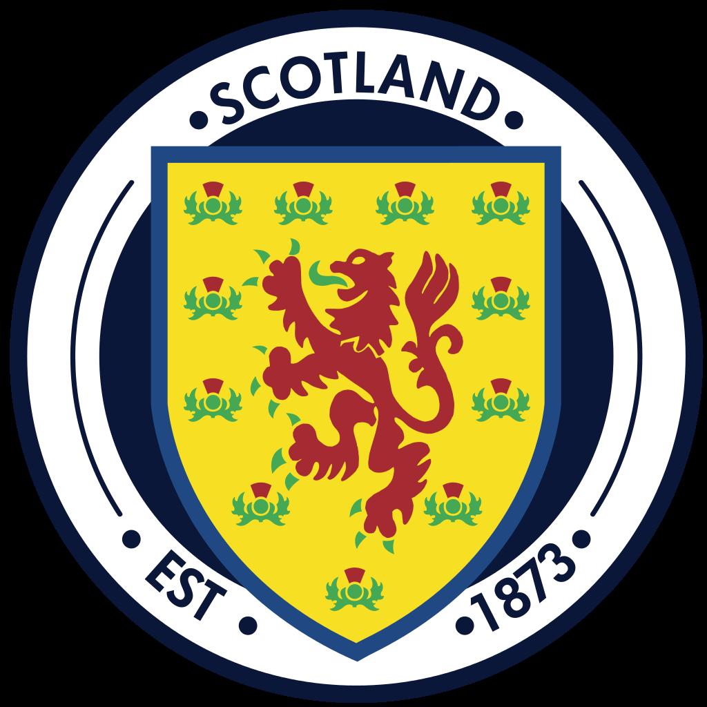 Scotland National Football Teams Logo . Escudos de