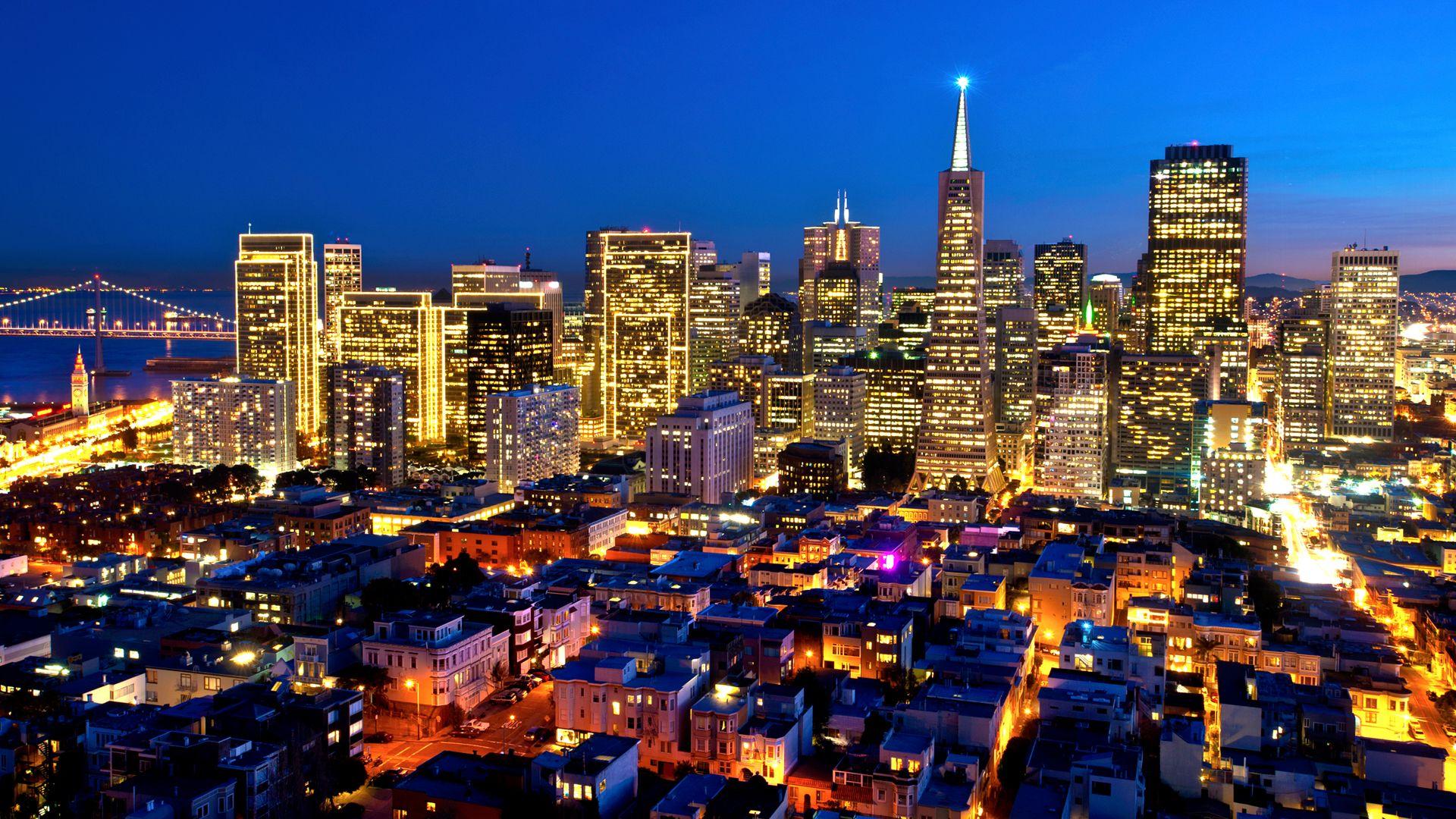 Via Interfacelift Com San Francisco At Night Macbook Pro Wallpaper New York Wallpaper