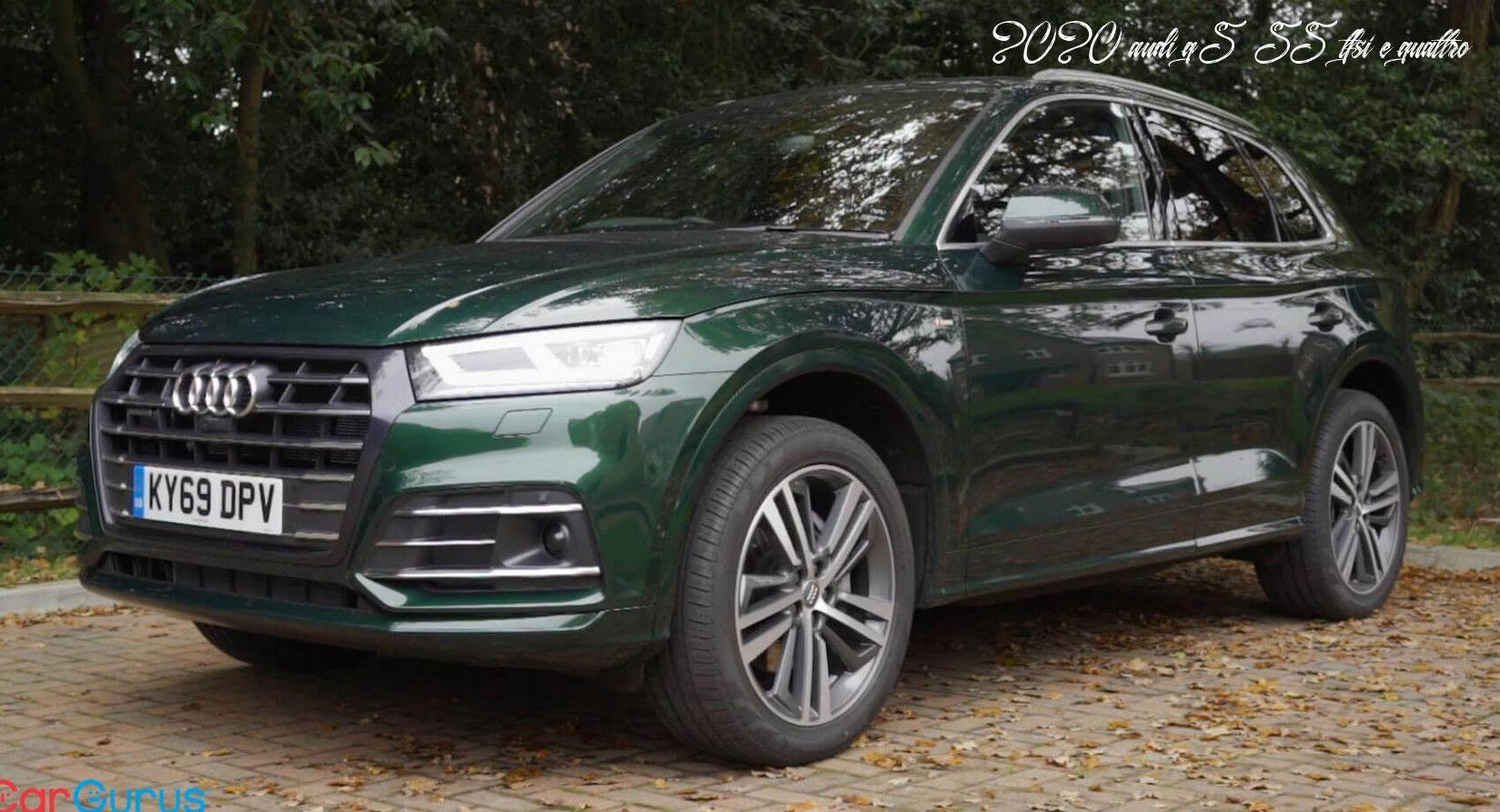 Probamos El Impactante Audi Q8 Un Suv De Lujo Diesel Y Mild Hybrid Para Complementar Al Q7 In 2020 Audi Audi Cars Audi Suv
