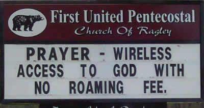 15 Hilarious Church Signs   Church sign sayings, Funny ...