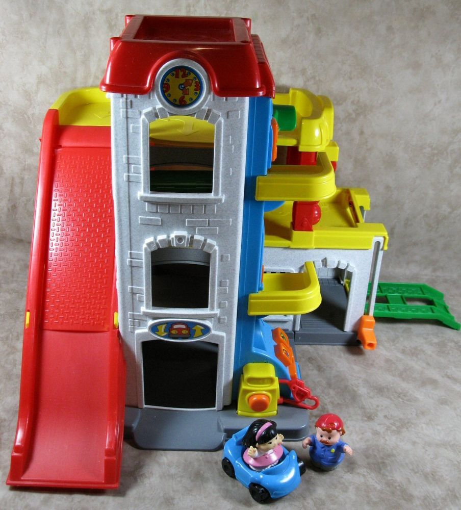 Fisher Price Little People Car Wash Garage