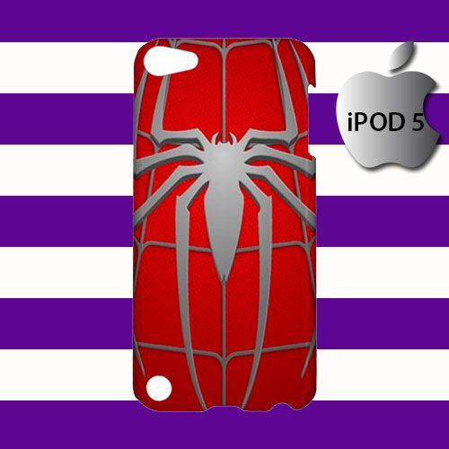 The Amazing Spiderman Logo iPod 5 5g 5th Touch Case Cover