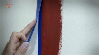 saubere kanten streichen
