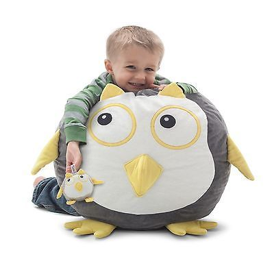 Childrens Animal Bean Bag Chair Oscar The Owl Bagimals With Stuffed Animal