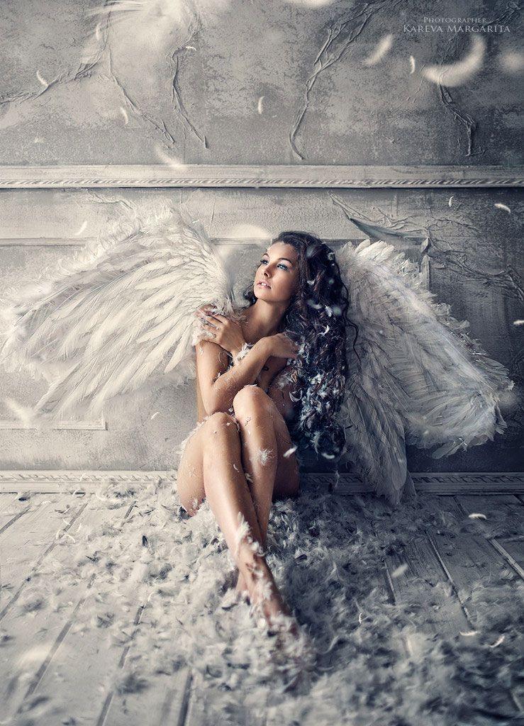 Ange Femme plongez dans l'univers fantastique de margarita à travers une série