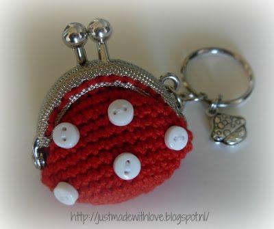 Patroon klein portemonneetje | crochet | Pinterest | Häkeln