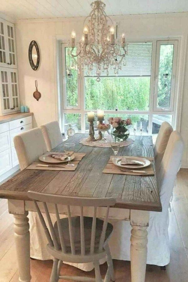 120 Modern Rustic Farmhouse Kitchen Decor Ideas 95 French Country Dining Room Farmhouse Dining Rooms Decor French Country Dining Room Decor
