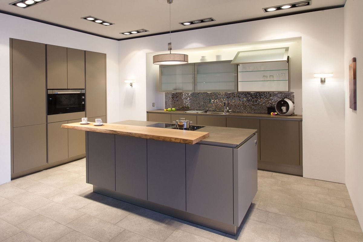 Küchenbörse24   SieMatic Grifflos Küche S2 K Muskat Matt Kunststoff  Beschichtet Design Ideas