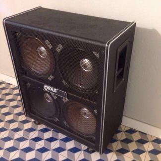 carlsbro 4x12 box lautsprecher vintage gitarrenbox in bremen stadt buntentor. Black Bedroom Furniture Sets. Home Design Ideas