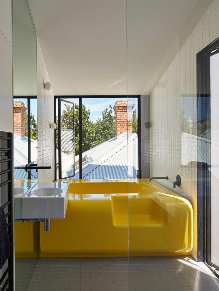 Farbe für Badezimmer gelb 10 Ideen -   schickmobel/farbe
