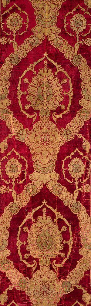 Renaissance Velvet Textiles   Thematic Essay   Heilbrunn Timeline of Art History   The Metropolitan Museum of Art