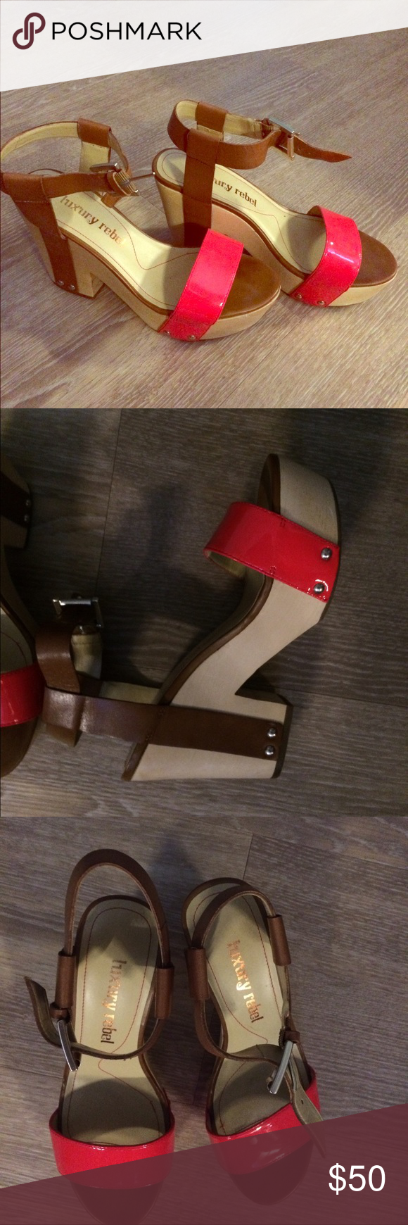 Luxury Rebel platforms Luxury Rebel platform shoes. Never worn outside. Almost as good as new! Shoes Platforms