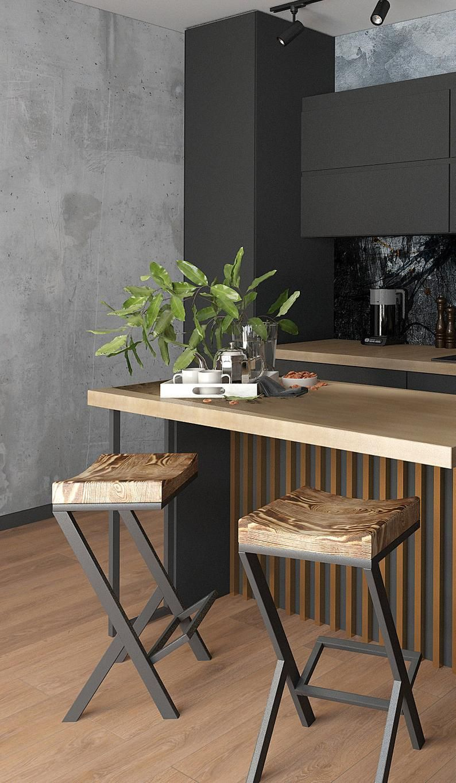 Height 13 40in 33 99cm Wood Metal Stool Etsy In 2020 Wood Metal Stool Metal Stool Wood And Metal