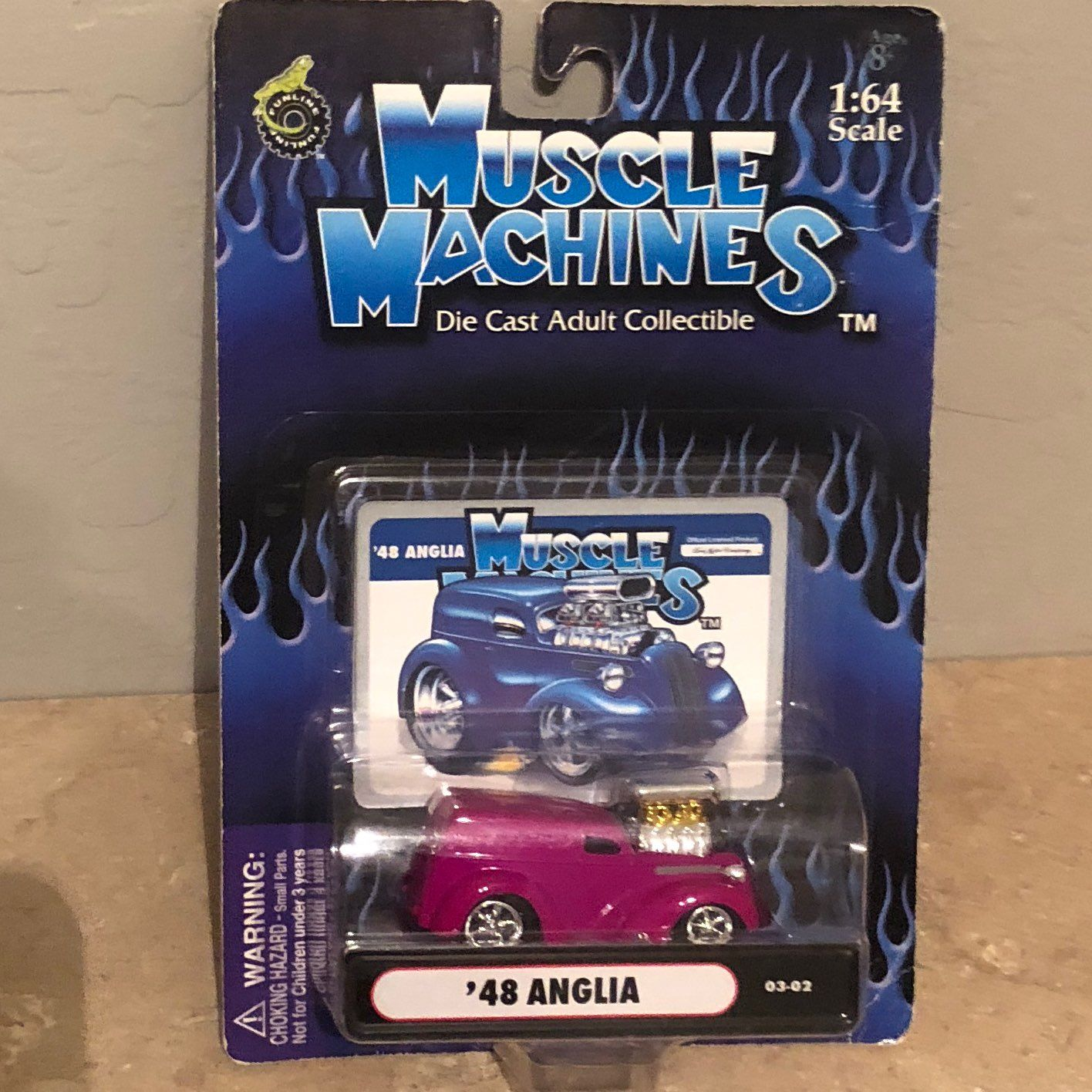 Muscle Machines 48 Anglia 1 64 Diecast On Mercari Diecast Muscle Cool Items