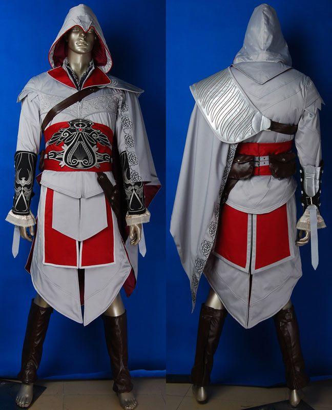 Assassin's Creed costume Ezio costume Master Ezio Auditore costume B4 Halloween costume