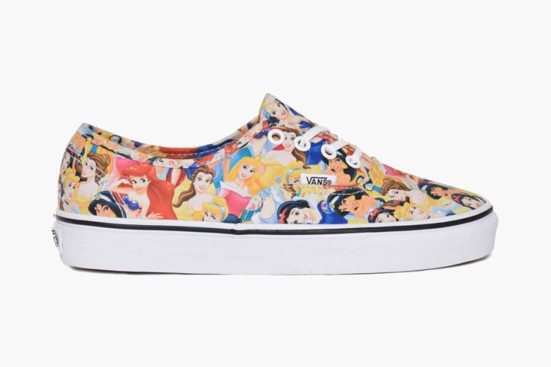 29a17f24dd Vans and Disney have joined forces to release a unique pair of the  California brand s classic Authentic model. The shoe has been overtaken by a  number of ...