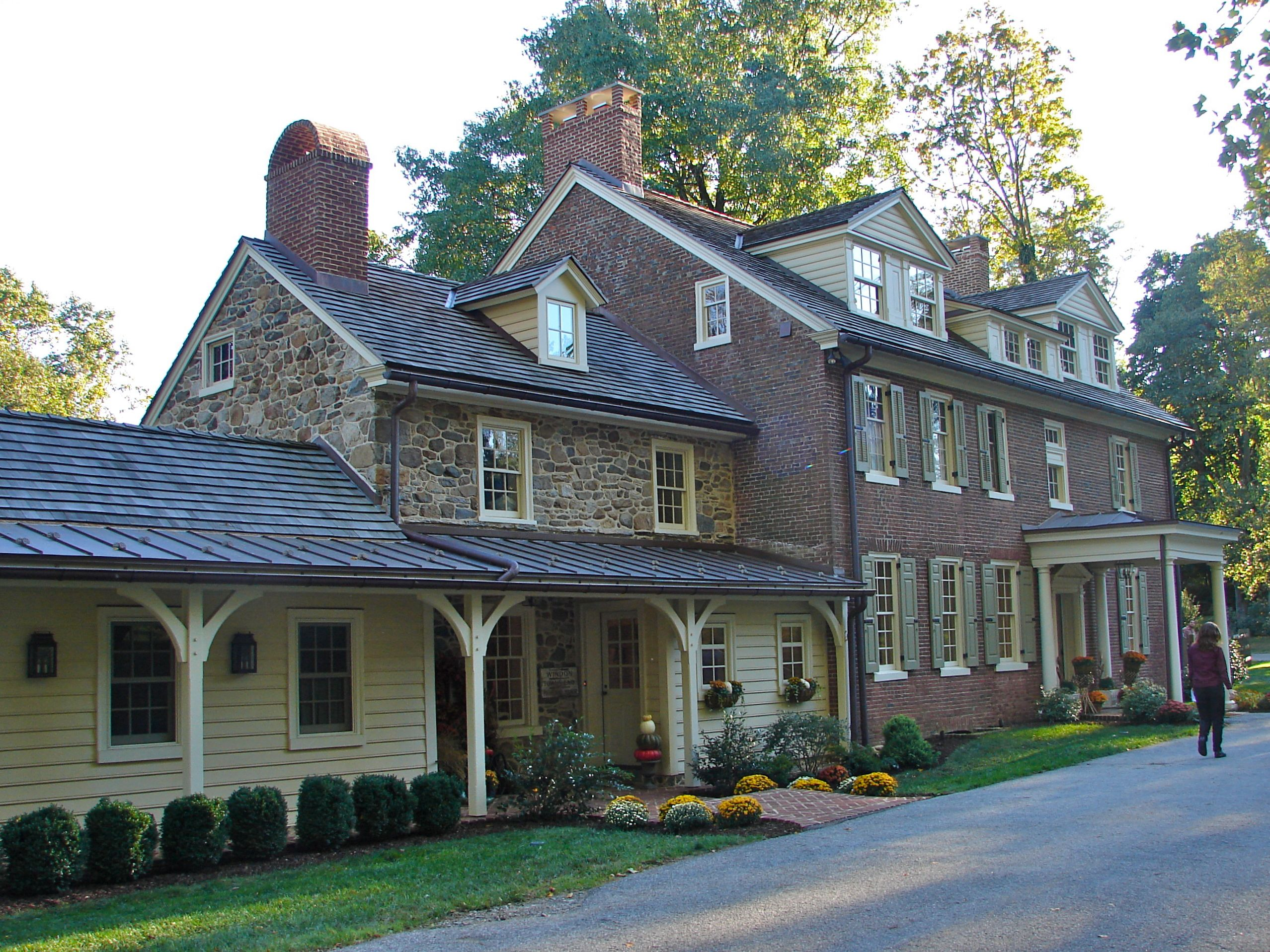 Stone Farmhouse For Sale Pa File Towns End West Chester Pennsylvania Wikimedia