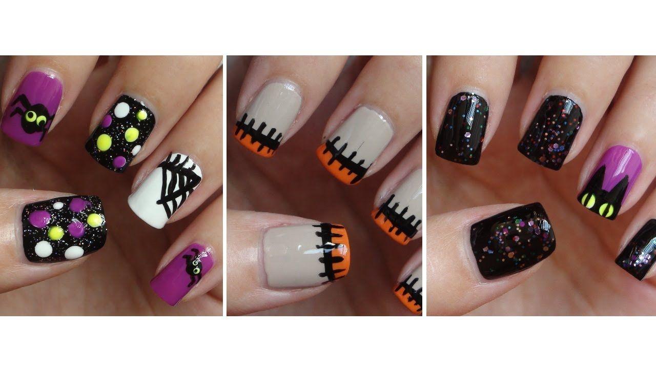 halloween nails .video --> http://youtu.be/xv0anagcci8 | ✝ n