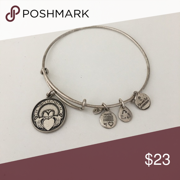 Alex and Ani Claddaugh Bracelet - Never worn Brand new condition - no longer has tags, but was a gift and never worn! Alex & Ani Jewelry Bracelets