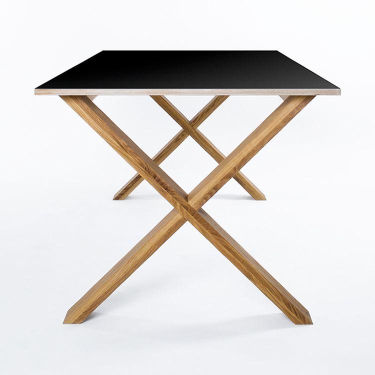 Til spisestua: Arc Table 220 Black Department - Kjøp møbler online på ROOM21.no