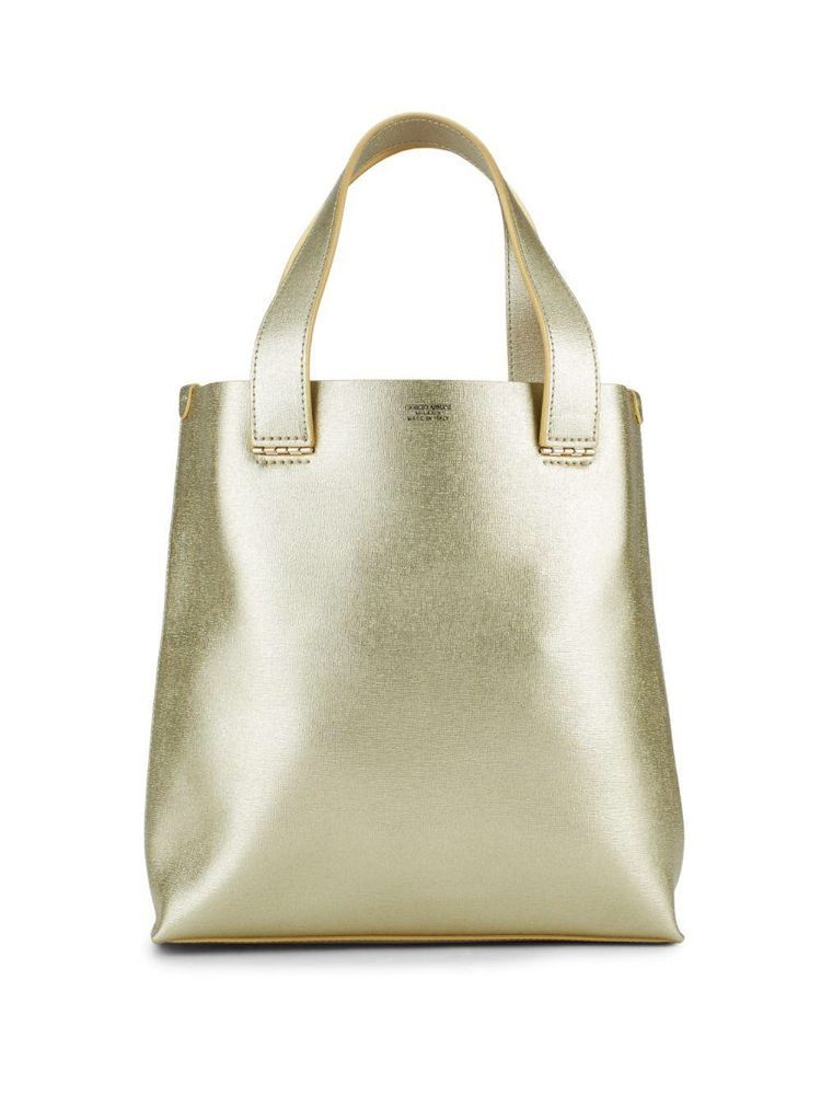 e1e1b71cc92a Authentic Gold Giorgio Armani Handbag Classy   Small Evening Bag! Date Purse.   GiorgioArmani  Tote