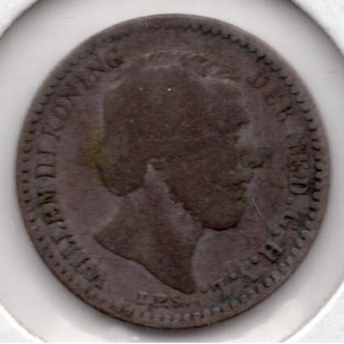 1889 Netherlands 10 Cents (CO97)