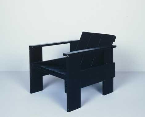 Gerrit Rietveld Kratstoel : Kratstoel  gerrit thomas rietveld please be seated