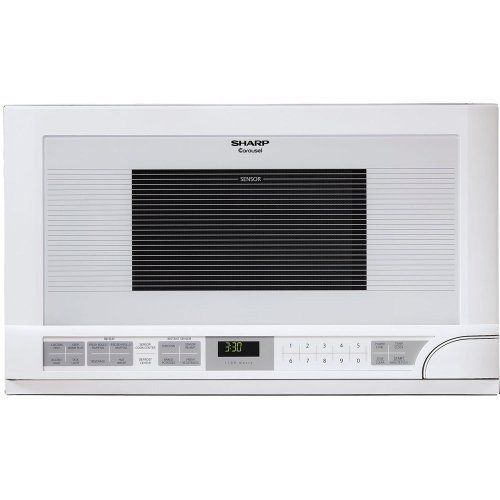 Sharp R-1211 1-1/2-Cubic Feet 1100-Watt Over-the-Counter Microwave, White - http://www.specialdaysgift.com/sharp-r-1211-1-12-cubic-feet-1100-watt-over-the-counter-microwave-white/