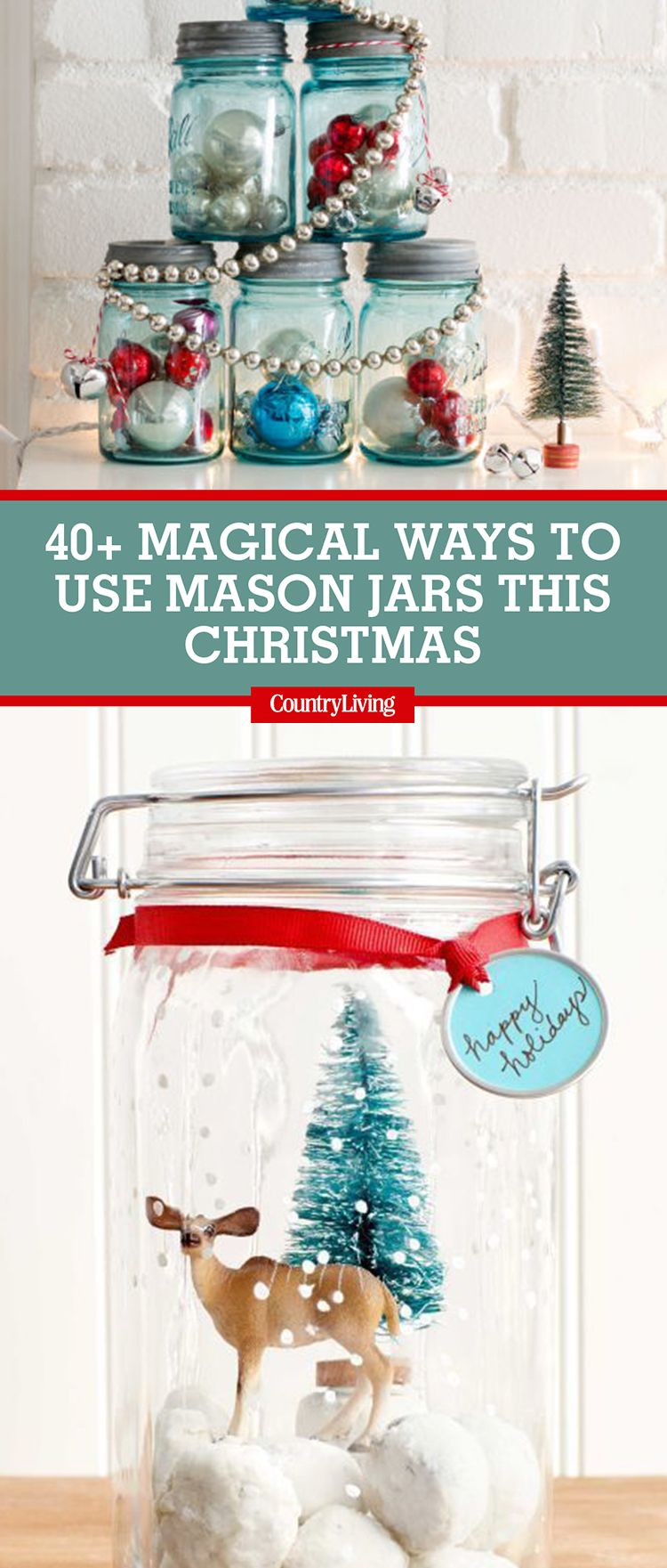Easy Mason Jar Christmas Crafts That Are Just As Pretty As They Are Fun To Make Mason Jar Christmas Crafts Mason Jar Crafts Christmas Jars