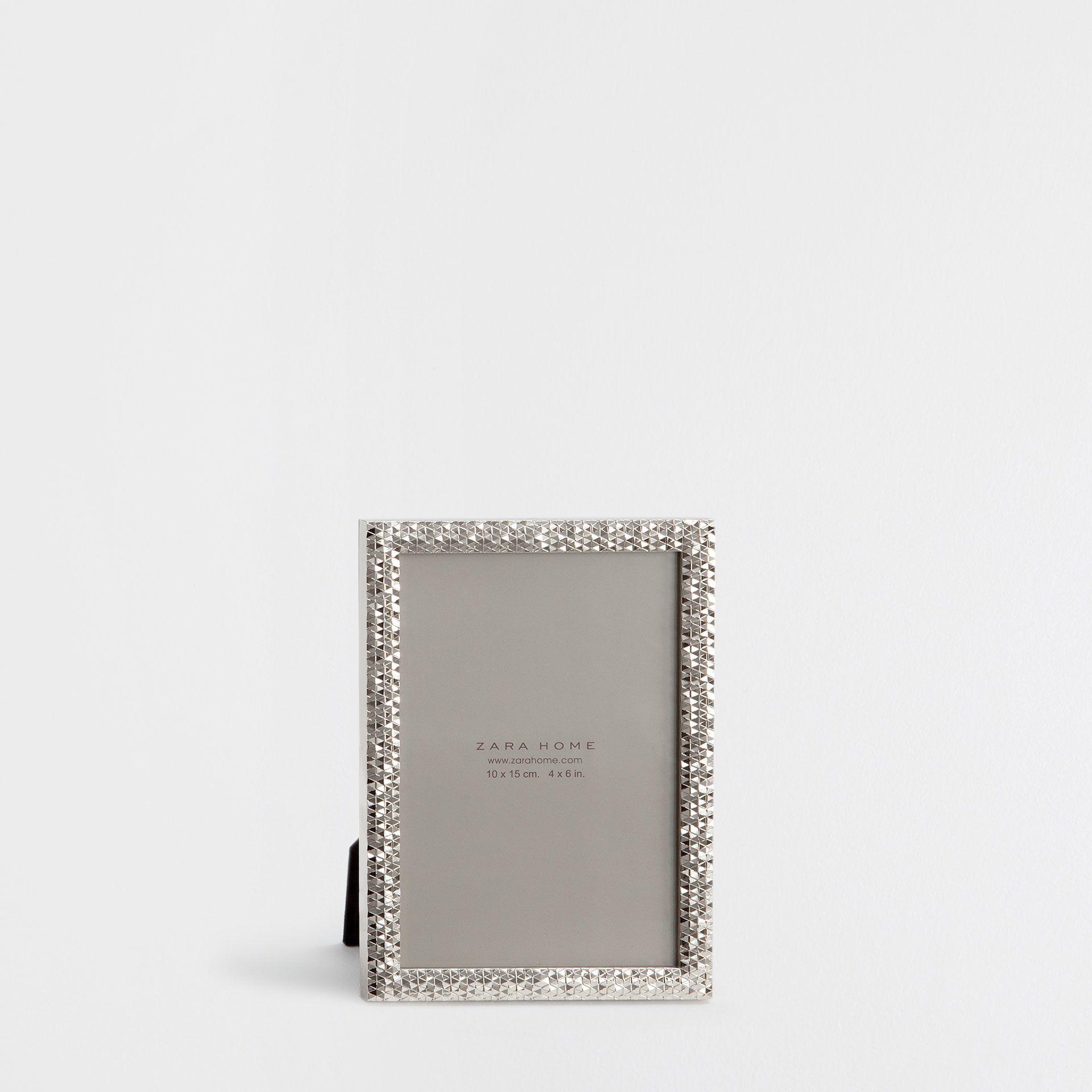 Faceted Metal Frame   Underwater Collection   DECORATION | Zara Home  Hrvatska