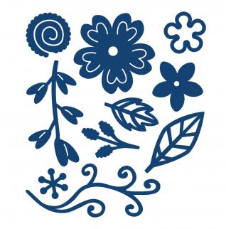 D094 Tattered Lace Dies - Sentimental Florals