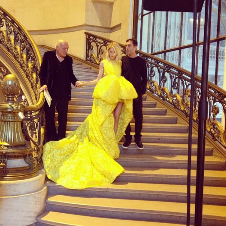 GODDESS GOWN IN YELLOW