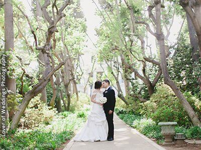 Fenyes Estate Garden At Pasadena Museum Of History California Wedding Venues 1
