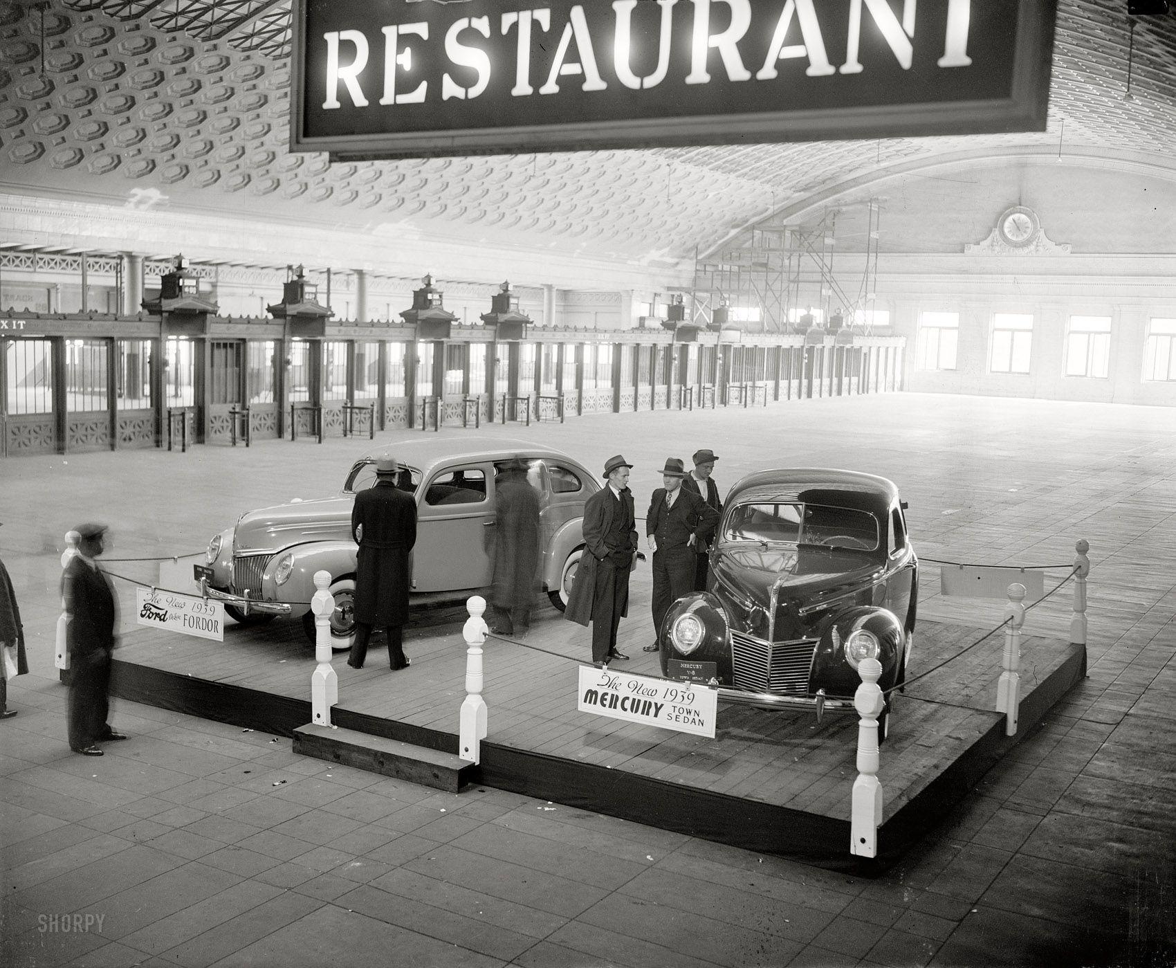 Ford Mercury 1939  (via Shorpy)