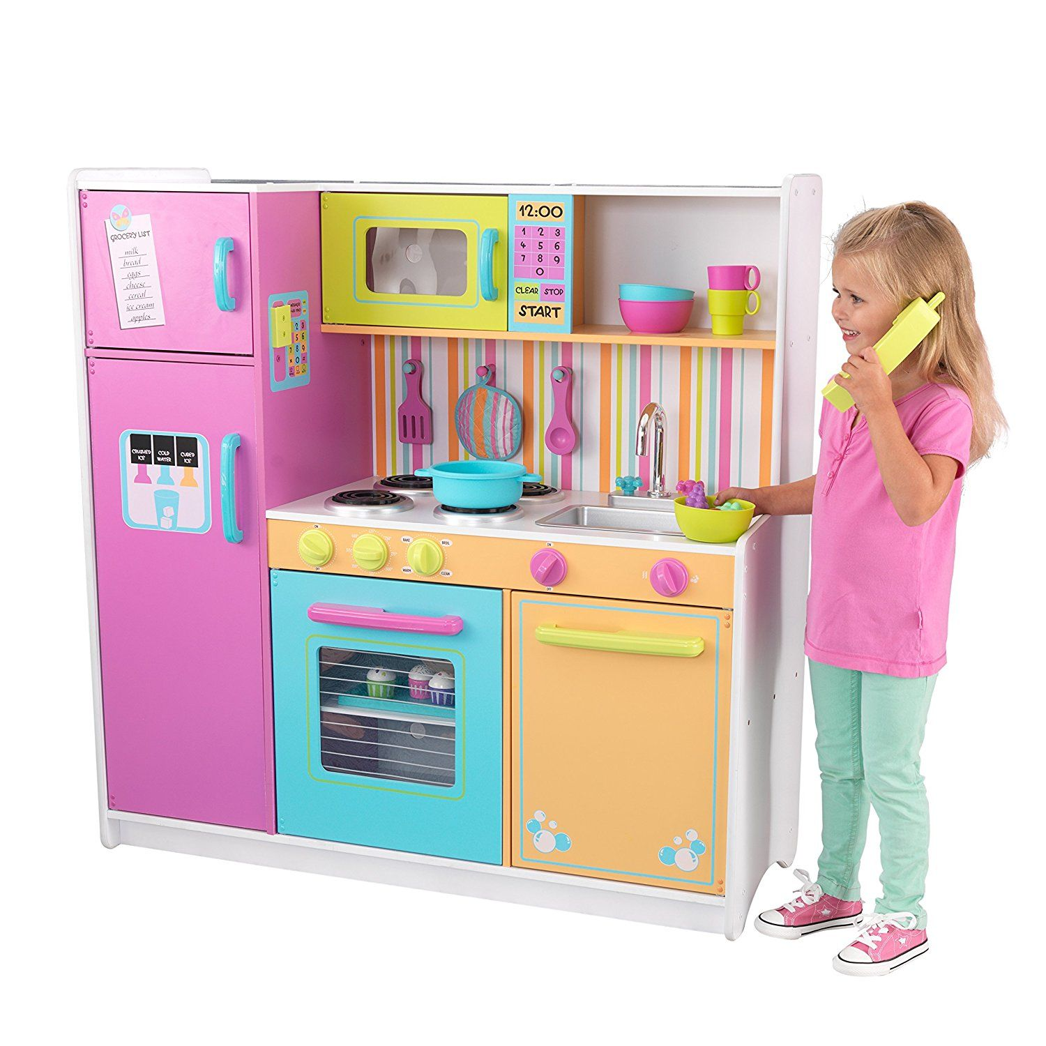50 Awesome Christmas Presents For 6 Year Old Girls You Must See Kitchen Sets For Kids Toy Kitchen Bright Kitchens