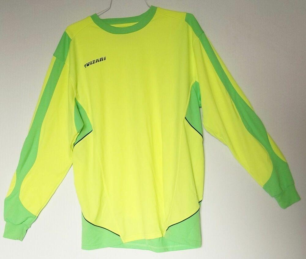 Mens size xl vizari soccer jersey collection yellow green