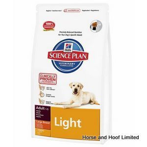 Hills Canine Light Large Breed Chicken 12kg Dog Food Recipes