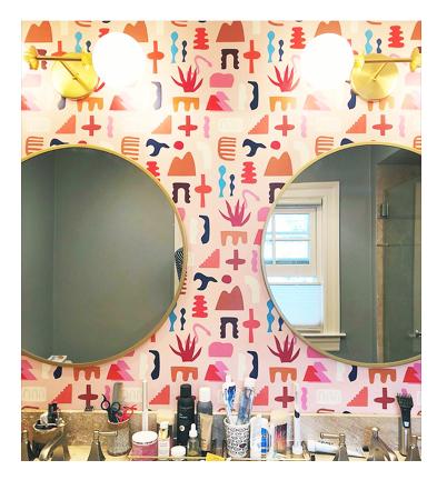 Sierra Multicolor Wallpaper — KATE ZAREMBA COMPANY