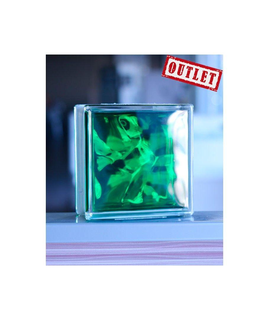 Bloque de vidrio paves verde ondulado bloques de vidrio - Bloques de paves ...
